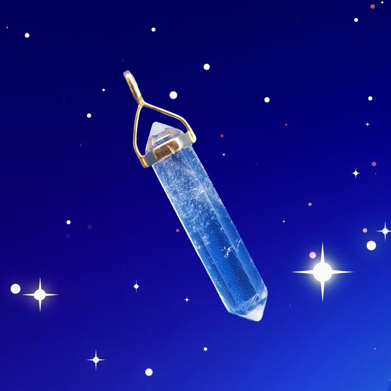 Bergkristall laddad med energi för dig